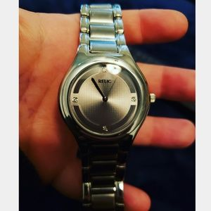 Relic Stainless Steel Watch
